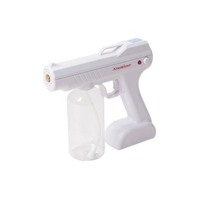 樂嫚妮 無線藍光消毒噴霧槍-800ml/酒精補充/清潔消毒液補充-800ml-白色