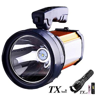 TX特林XML-T6LED高容量鋰電池黃光探照燈(T-YB115)