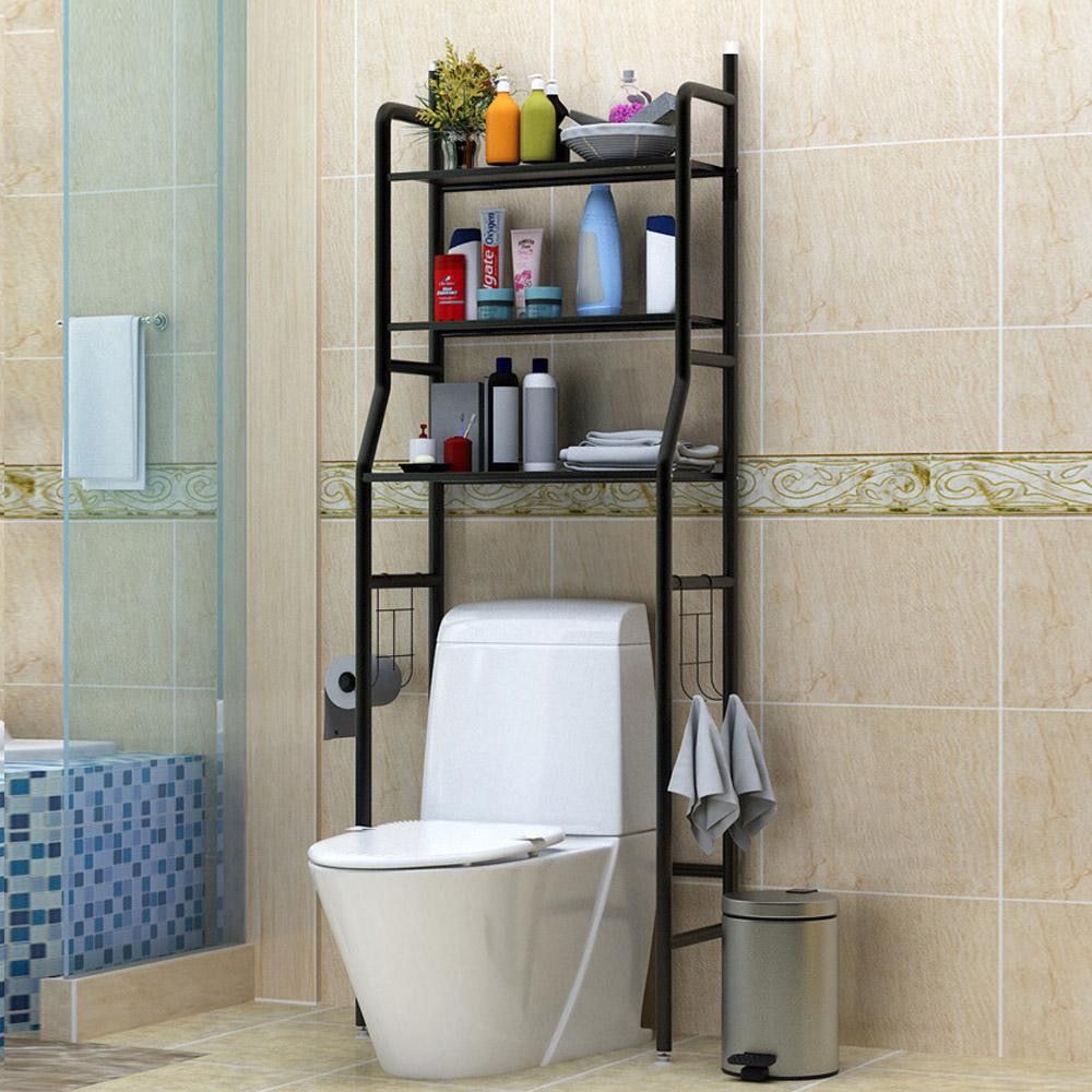 CityShop●浴廁馬桶落地收納置物層架(三色)