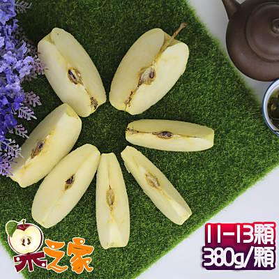 果之家 日本青森稀少種無蠟金星蘋果XL特級11-13顆禮盒(約5kg,單顆為380-450
