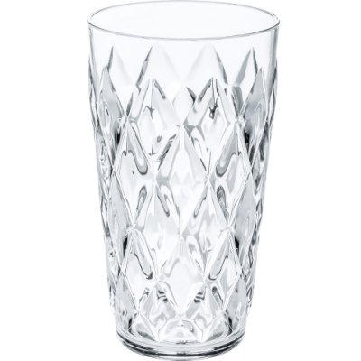 《KOZIOL》菱格晶透杯(透450ml)