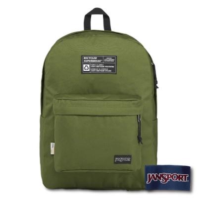 JANSPORT WEST BREAK 系列後背包 -橄欖綠