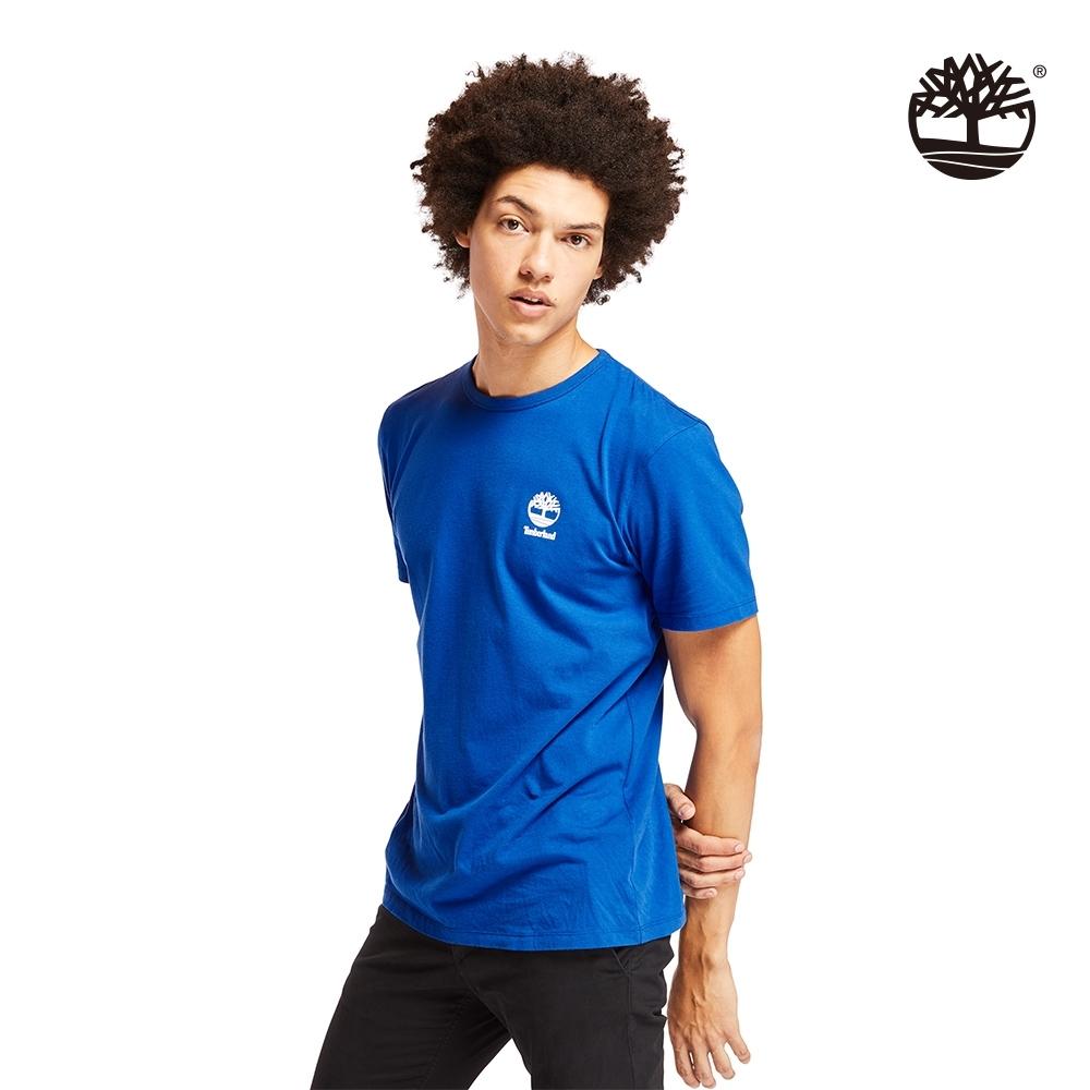 Timberland 男款海洋藍徽標LOGO短袖圓領T恤|A22RP