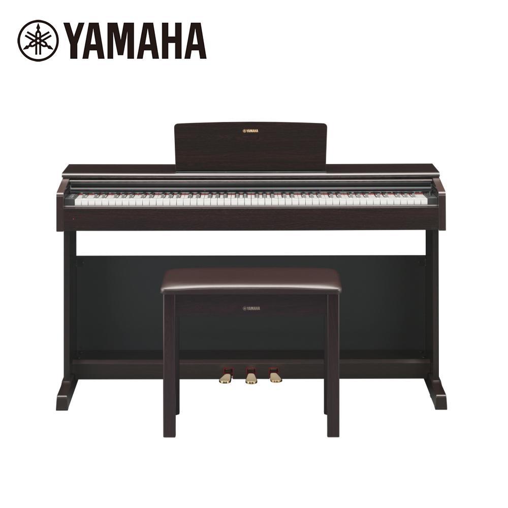 YAMAHA YDP-144 R 數位電鋼琴 88 鍵滑蓋 玫瑰木紋色款