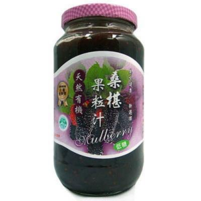 花蓮桑椹 桑椹果粒汁(600ccx6瓶)