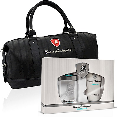 Lamborghini藍寶堅尼原力覺醒75ml淡香水禮盒-贈同品牌旅行袋