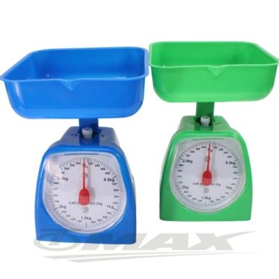 OMAX簡易型烘焙3KG料理秤206-<b>1</b>入(顏色隨機)-快