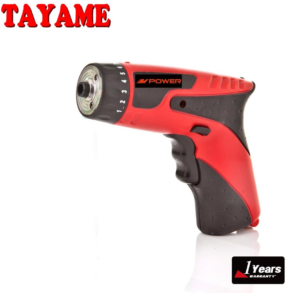 TAYAME 4.8V 充電式電鑽起子機