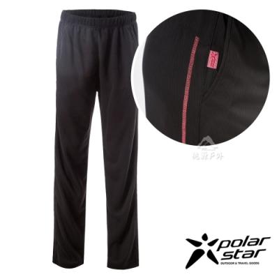 PolarStar 女 排汗針織運動長褲『紅橘』P19316  MIT
