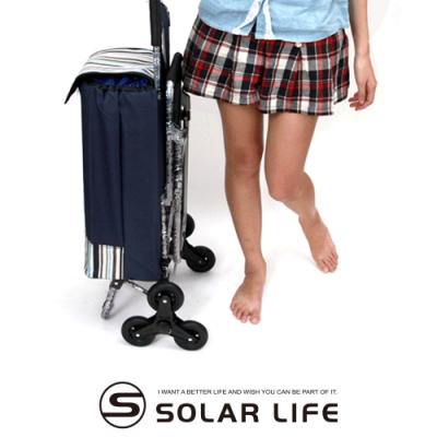 爬樓梯折疊收納購物車/便攜拉桿手拉推車椅/買菜車30L