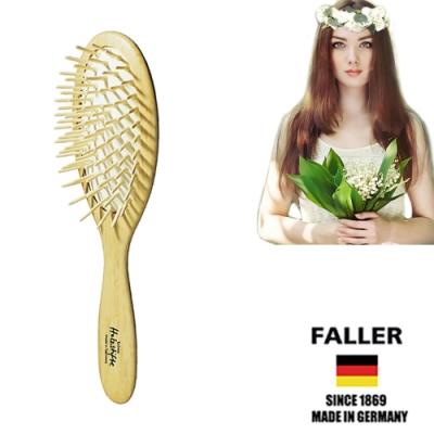 FALLER芙樂德國製FSC大尺寸細緻櫸木氣墊木齒梳  (一入)