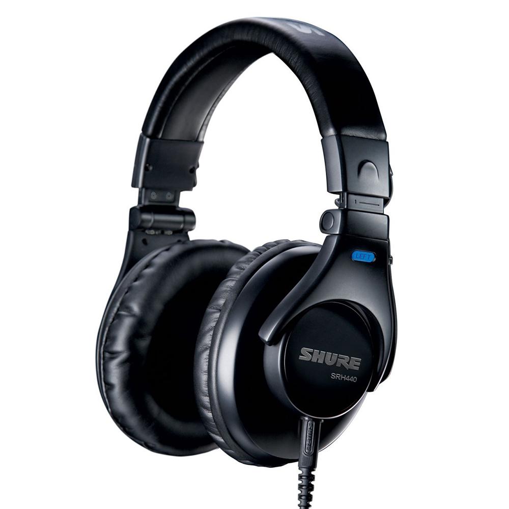 SHURE 耳機 SRH440 監聽 耳罩式耳機 @ Y!購物