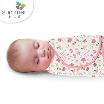 美國 Summer Infant 聰明懶人育兒包巾-花香鳥語