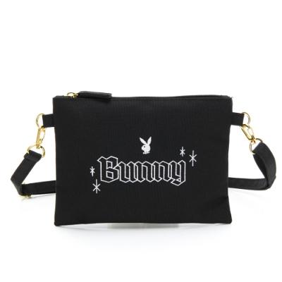 PLAYBOY-萬用包 Bunny兔系列-黑色
