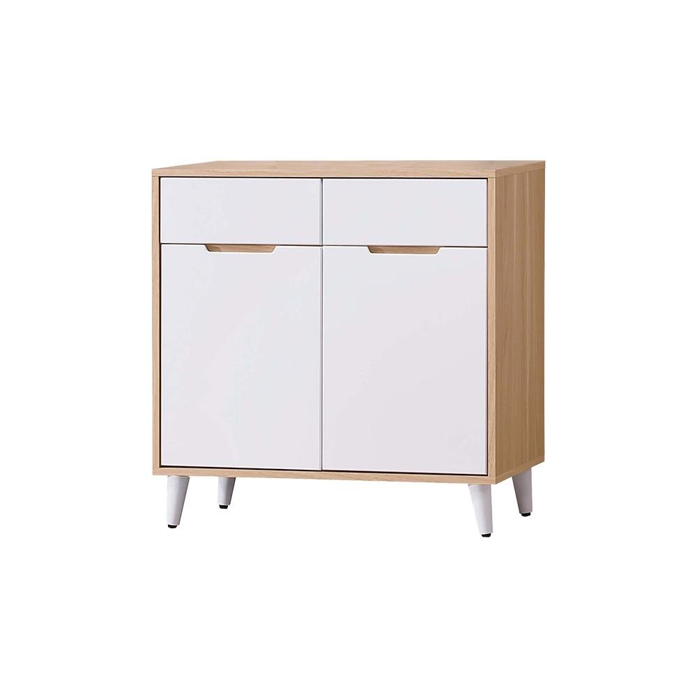 Boden-伊甸2.7尺北歐風收納餐櫃/碗盤置物櫃/電器櫃(下座)-81x40x82cm