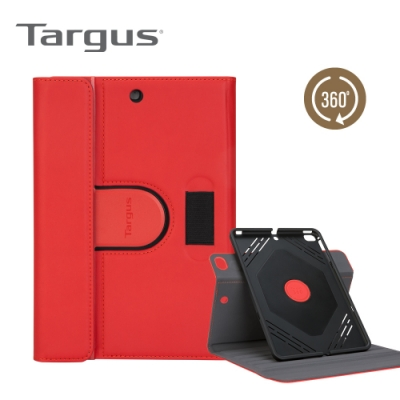 Targus VersaVuSlim360 iPadmini旋轉保護套紅-THZ69403