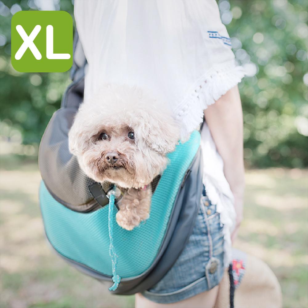 Crazypaws瘋狂爪子 運動風寵物側背包 / XL號