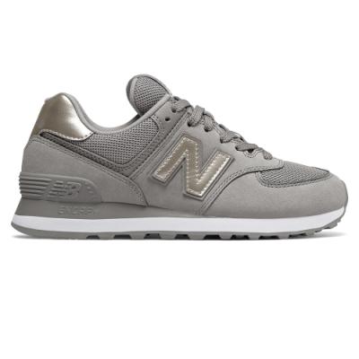 New Balance 574 WL574WNK-B 女性 灰色