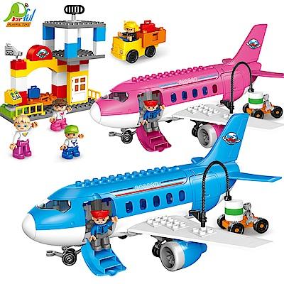Playful Toys 頑玩具 飛機積木組