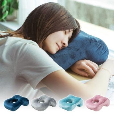 (買1送1) 樂嫚妮 午睡枕/趴睡枕/頸枕/靠枕墊 (4色)