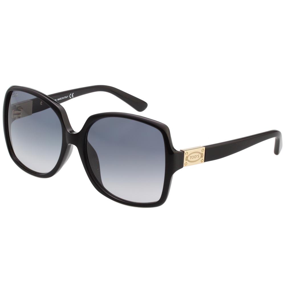TOD'S 修飾臉型大方框 太陽眼鏡 (黑色)TO9126