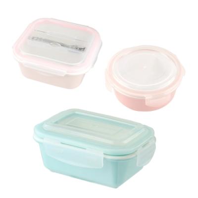 美國 Winox 實用陶瓷保鮮盒三件組