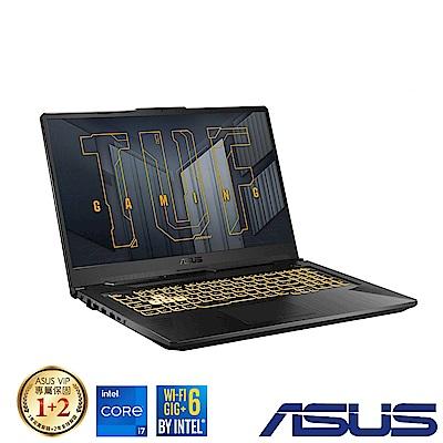 ASUS FX706HEB 17吋電競筆電 (i7-11800H/RTX 3050Ti/8G/512G/TUF Gaming F17/幻影灰)