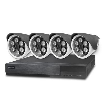 全視線 台灣製造施工套餐 8路4支安裝套餐 主機DVR 1080P 8路監控主機+4支 紅外線LED攝影機(TS-AHD872)+2TB硬碟