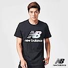 New Balance粉彩NB經典Logo短袖T恤AMT91580BK_男_黑
