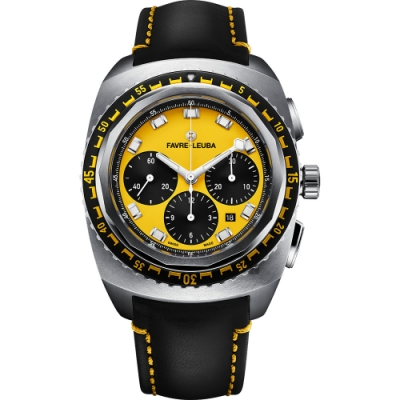 FAVRE-LEUBA 域峰 RAIDER Sea Sky 海空經典計時機械錶-44mm