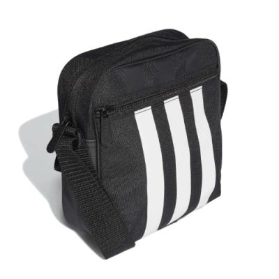 adidas 斜背包 3S Organizer 外出 男女款 愛迪達 輕便 基本百搭 手機包 背帶可調 黑 白 FL1750