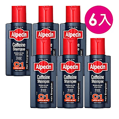 (週慶限定)*Alpecin 咖啡因洗髮露 250mlx6入