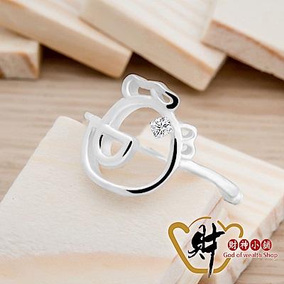 財神小舖 可愛好運雞戒指 925純銀 活圍戒 (含開光) RS-205