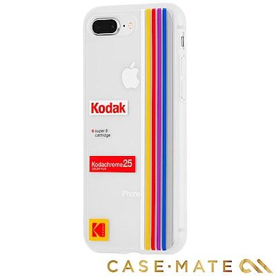 美國 CASE●MATE iPhone 8+/7+ Kodak柯達聯名款強悍防摔殼-透明
