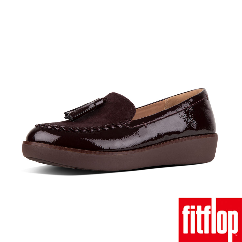 FitFlop PAIGE 樂福鞋紅色