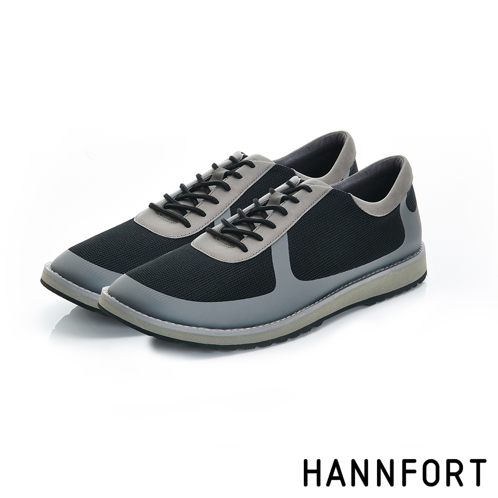 HANNFORT CANYON網布休閒鞋-男-峭壁灰