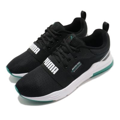 Puma 慢跑鞋 MAPM Wired Run 男鞋 輕量 透氣 舒適 避震 球鞋 穿搭 黑 綠 30660401