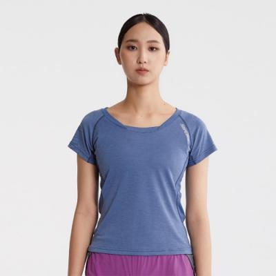SUPERACE 天絲棉訓練機能TEE / 女款 / 藍色