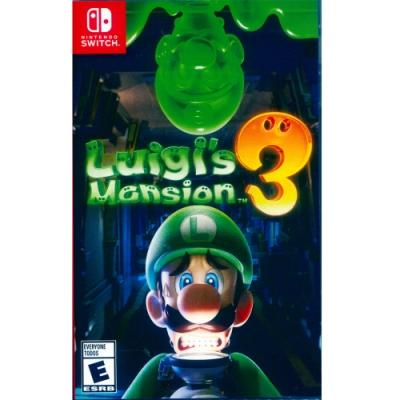 路易吉洋樓 3 Luigi s Mansion 3 - NS Switch 中英日文美版