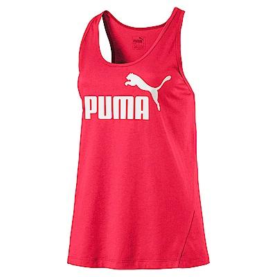 PUMA-女性基本系列No.1 Logo休閒背心-蜜桃紅-歐規