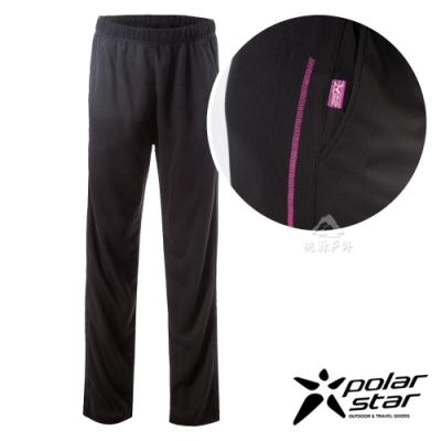 PolarStar 女 排汗針織運動長褲『紫紅』P19316  MIT