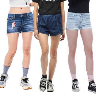 【時時樂限定】LEE夏季女生短褲-五款選