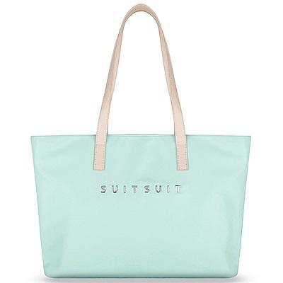 SUITSUIT Fabulous 尼龍 旅行包-薄荷綠