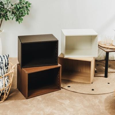 樂嫚妮 收納櫃/空櫃/書櫃/單格置物櫃-4色-42X28.2X28.8cm