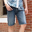 Levis 男款 短褲 501 中腰原創直筒 排釦 無彈性