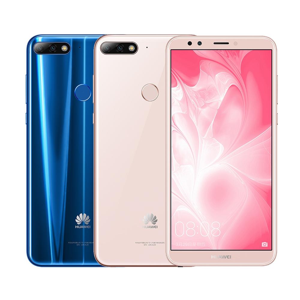 HUAWEI Y7 Prime 2018(3G/32G)5.99吋全面屏智慧手機