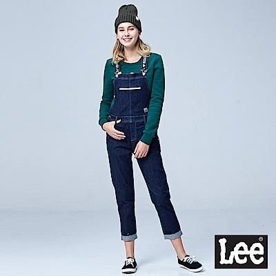 Lee 牛仔吊帶長褲/UR-深藍色