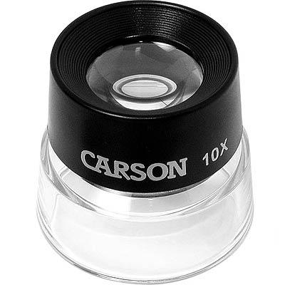 CARSON Lumi 杯式專業放大鏡(10x附測量板)