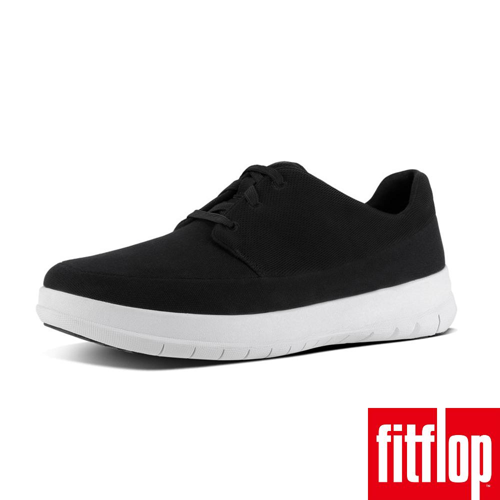 FitFlop SPORTY-POP CANVAS SNEAKER-黑色