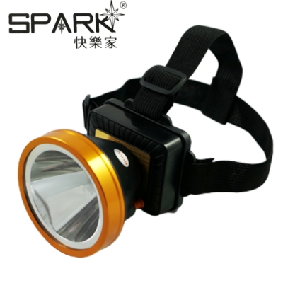 SPARK 充電式強光高亮度LED頭燈 H016